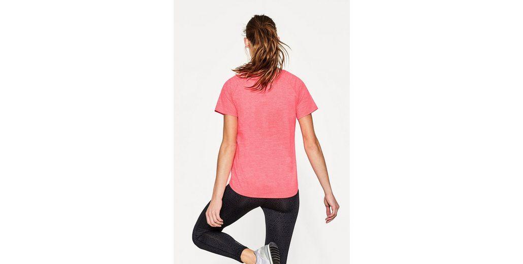 ESPRIT Neonfarbiges Active-Stretch-Shirt, E-DRY