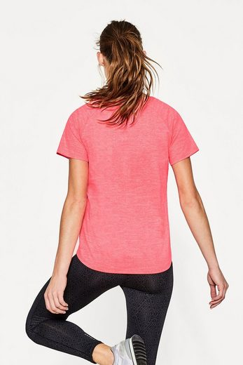 ESPRIT Neonfarbiges Active-Stretch-Shirt, E-DRY