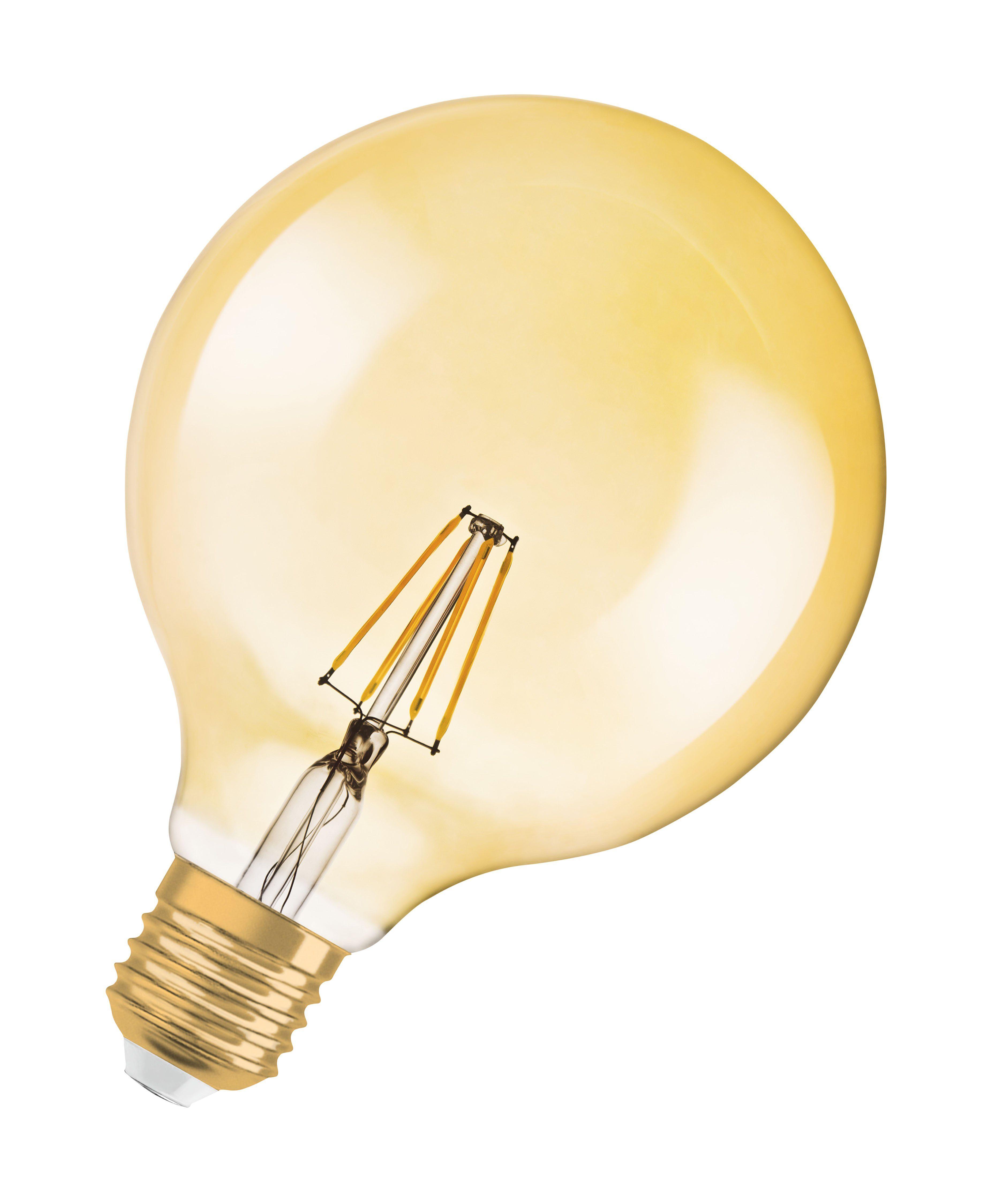 Osram Vintage 1906 LED-Lampe, klassische Ballform, dimmbar »ST GLOBE 51 6.5 W/824 E27«