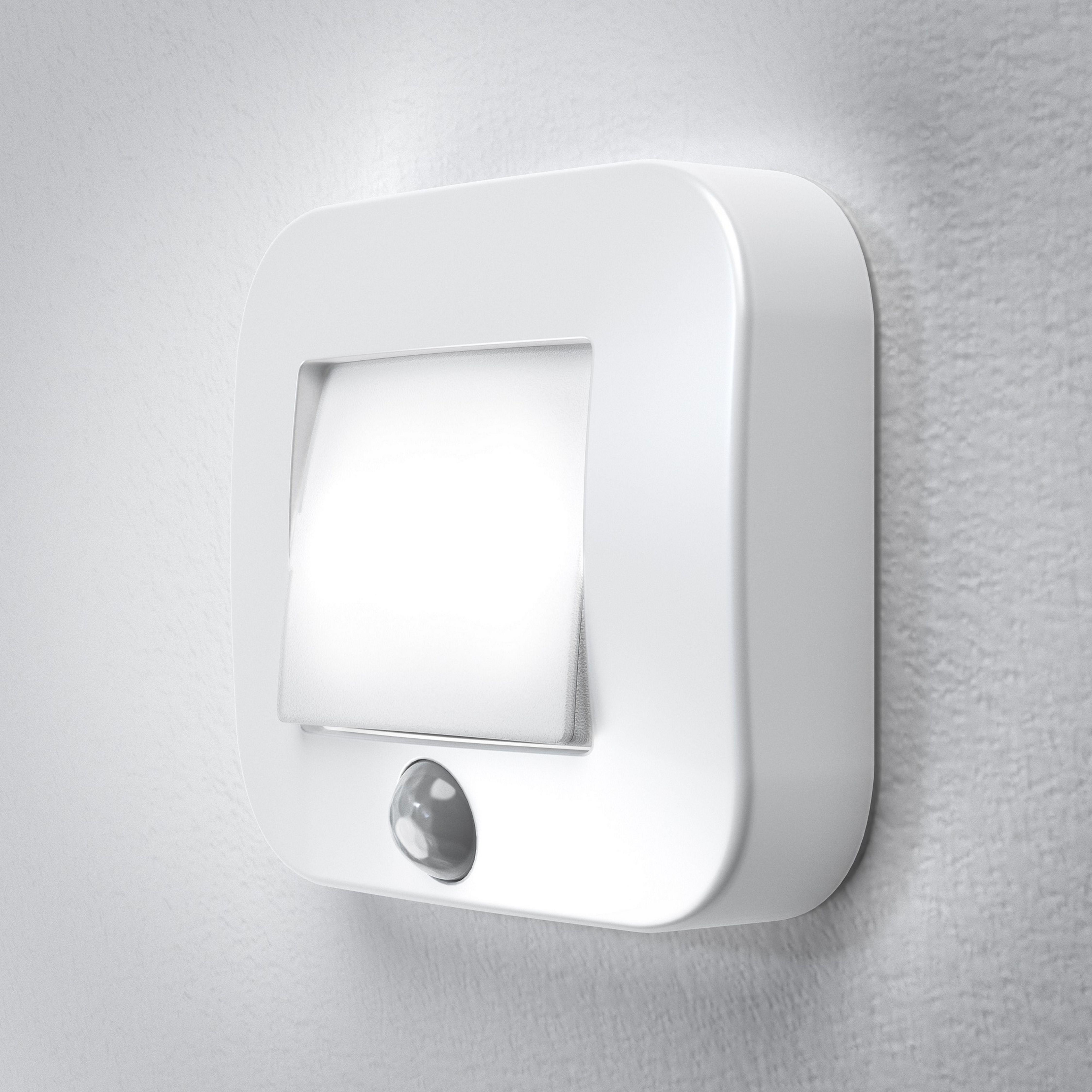 Osram LED Nachtlicht, batteriebetrieben, mit Bewegungssensor »NIGHTLUX Hall« | Lampen > Kinderzimmerlampen | White | Osram