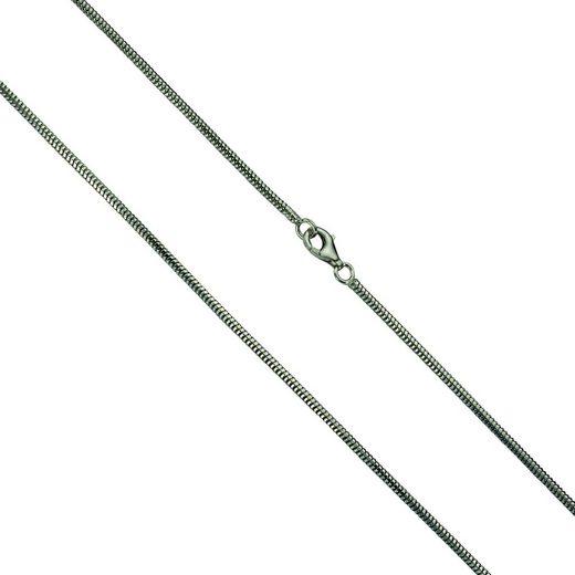 Vivance Collier »925/- Silber rhod. Schlangenk. diamantiert«