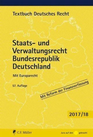 Broschiertes Buch »Staats- und Verwaltungsrecht Bundesrepublik...«