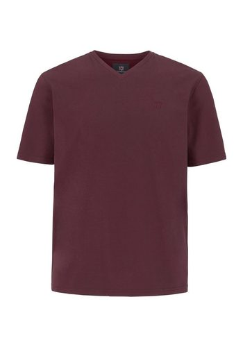 Herren Jan Vanderstorm V-Shirt NANTWIN rot | 04056916152834