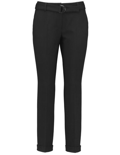 Gerry Weber Pants Leisure Shortened Trousers With Saumumschlag