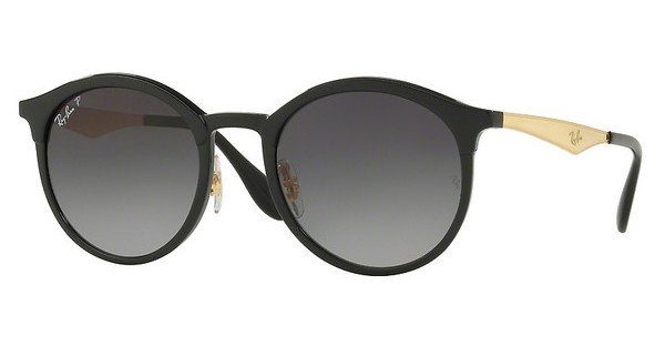RAY BAN RAY-BAN Sonnenbrille »EMMA RB4277«, schwarz, 6306T3 - schwarz/grau