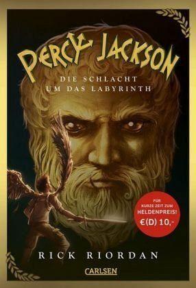 Gebundenes Buch »Die Schlacht um das Labyrinth / Percy Jackson...«
