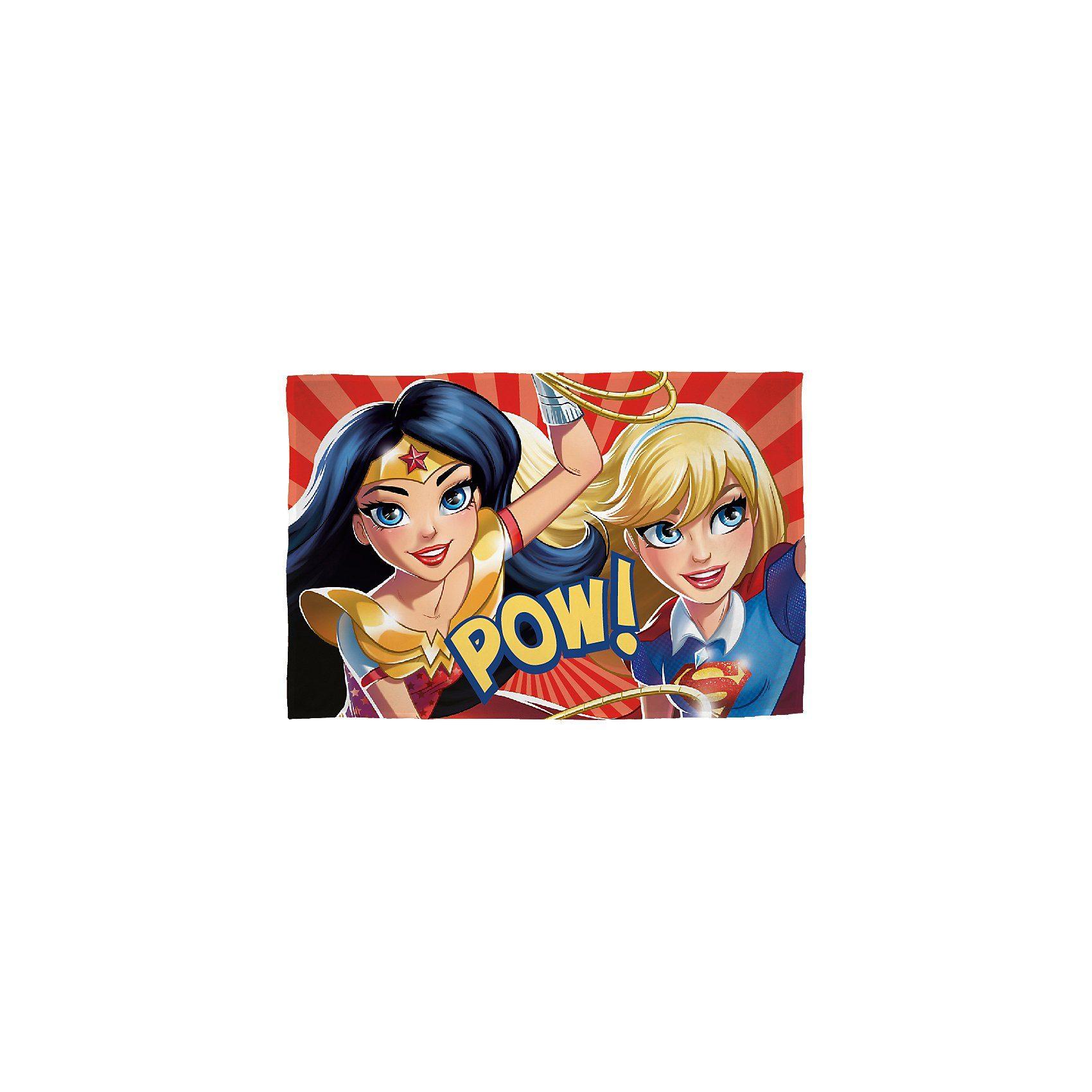 Kuscheldecke DC Super Heroes Girls, 100 x 150 cm