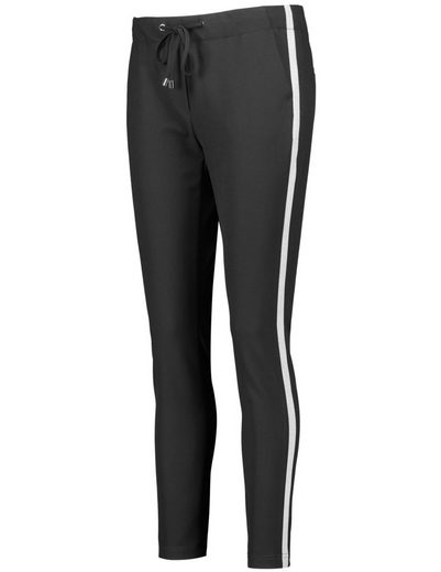 Shortened Typhoon Pants Leisure Lounge Pants With Side Stripes