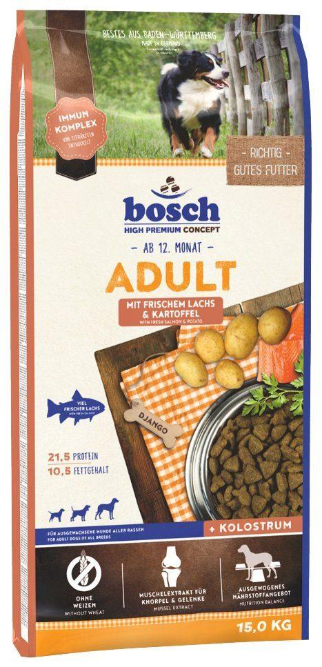 BOSCH PETFOOD Hundetrockenfutter »Lachs und Kartoffel«, 15 kg