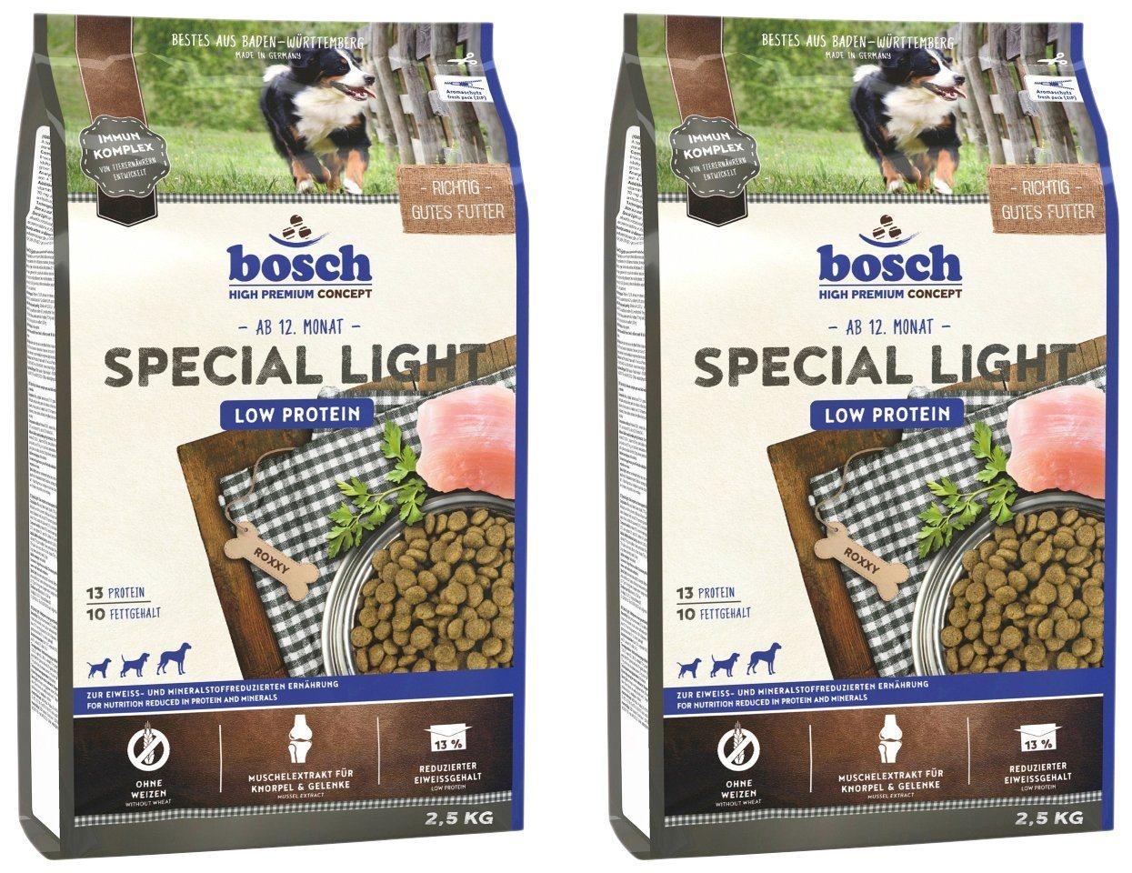 BOSCH PETFOOD Hundetrockenfutter »Special Light«, 2 Beutel á 2,5 kg - Preisvergleich