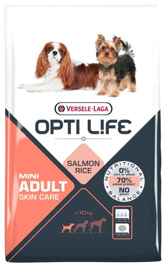 BENTO KRONEN Hundetrockenfutter »Opti Life Adult Skin Care Mini«, 7,5 kg