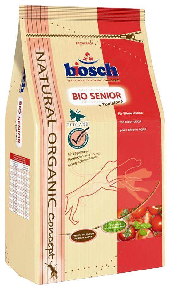 BOSCH PETFOOD Hundetrockenfutter »BIO Senior + Tomate«, 11,5 kg