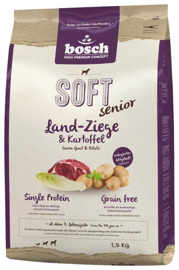 bosch petfood hundetrockenfutter soft senior ziege und kartoffel 2 5 kg online kaufen otto. Black Bedroom Furniture Sets. Home Design Ideas