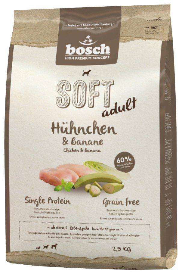 BOSCH PETFOOD Hundetrockenfutter »Soft Huhn und Banane«, 2,5 kg