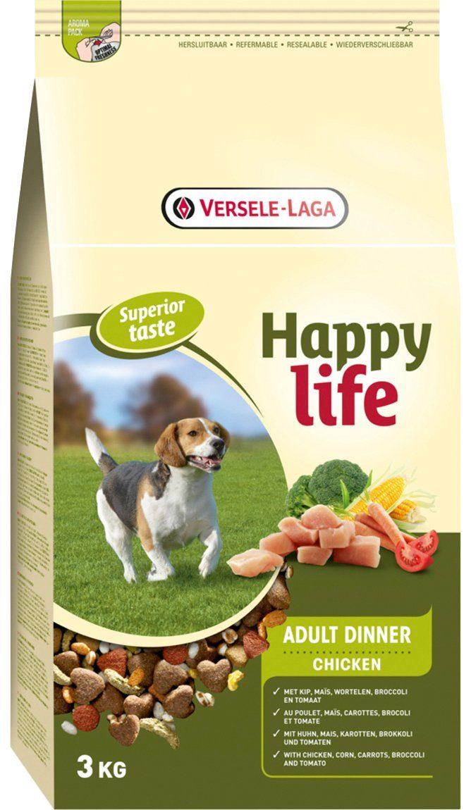 BENTO KRONEN Hundetrockenfutter »Happy Life Adult Chicken Dinner«, 15 kg