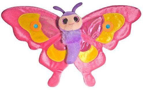 WILD REPUBLIC® Kuscheltier, »Sweet + Sassy Schmetterling Pink, 38 cm«