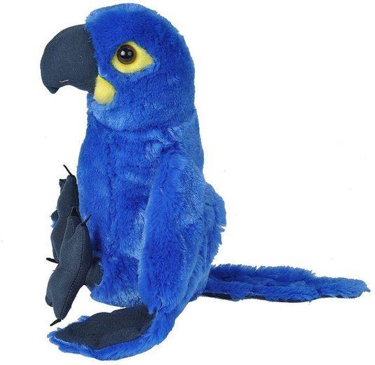 WILD REPUBLIC  Kuscheltier »Cuddlekins Hyacinth Papagei Macaw, 30 cm«