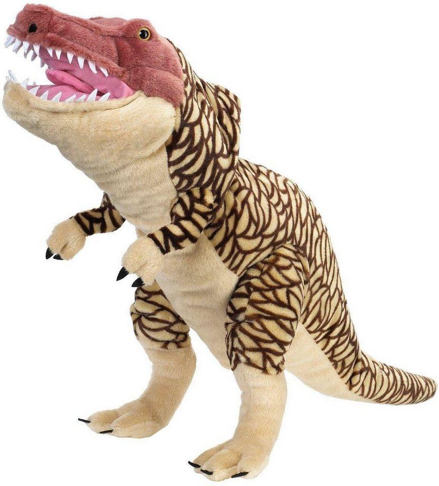 wild republic® handpuppe »dinosaurier trex 75 cm