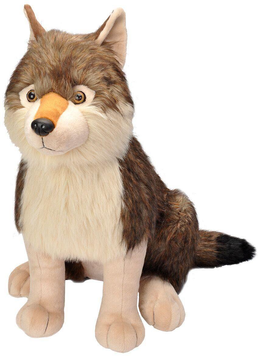 WILD REPUBLIC® Kuscheltier, »Little Biggies Wolf, 53 cm«