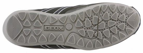 Chaussure À Lacets Geox Uomo Ravex, Avec Semelle Intérieure Amovible