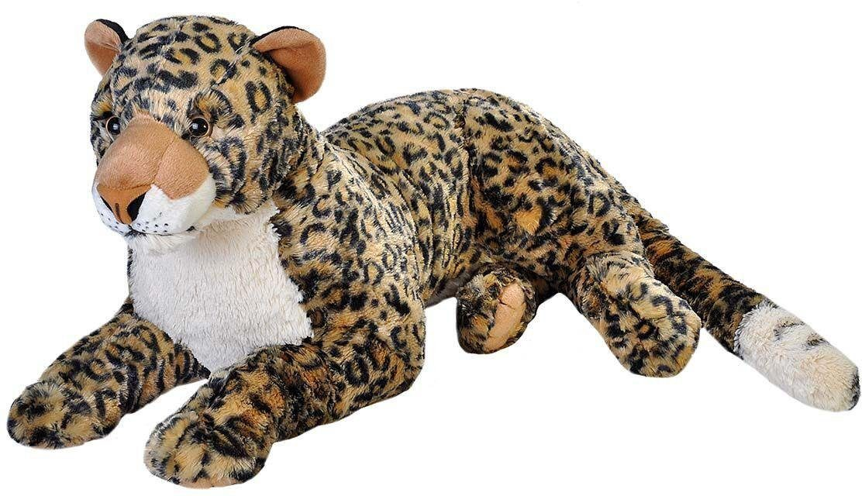 WILD REPUBLIC® Kuscheltier, »Cuddlekins Jumbo Afrikanischer Leopard, 76 cm«