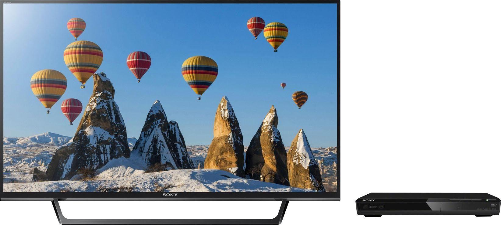 Sony KDL40RE455BAEP LED-Fernseher (101 cm/40 Zoll, Full HD, Spar-Set mit DVD-Player DVP-SR170B)