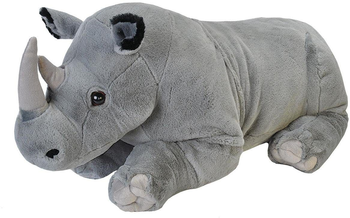 WILD REPUBLIC® Kuscheltier, »Cuddlekins Jumbo Rhino, 76 cm«