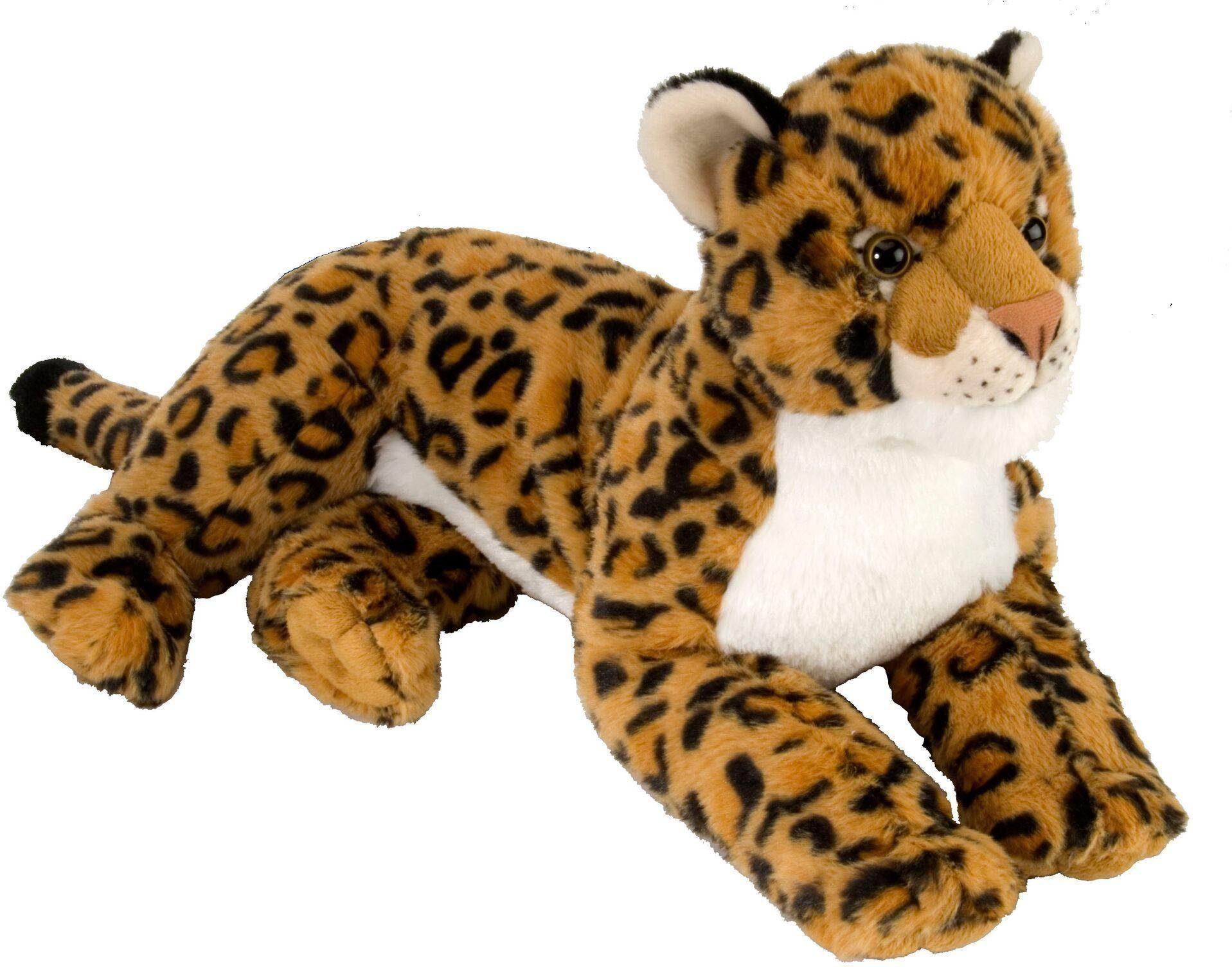 WILD REPUBLIC® Kuscheltier, »Cuddlekins Leopard liegend, 40 cm«
