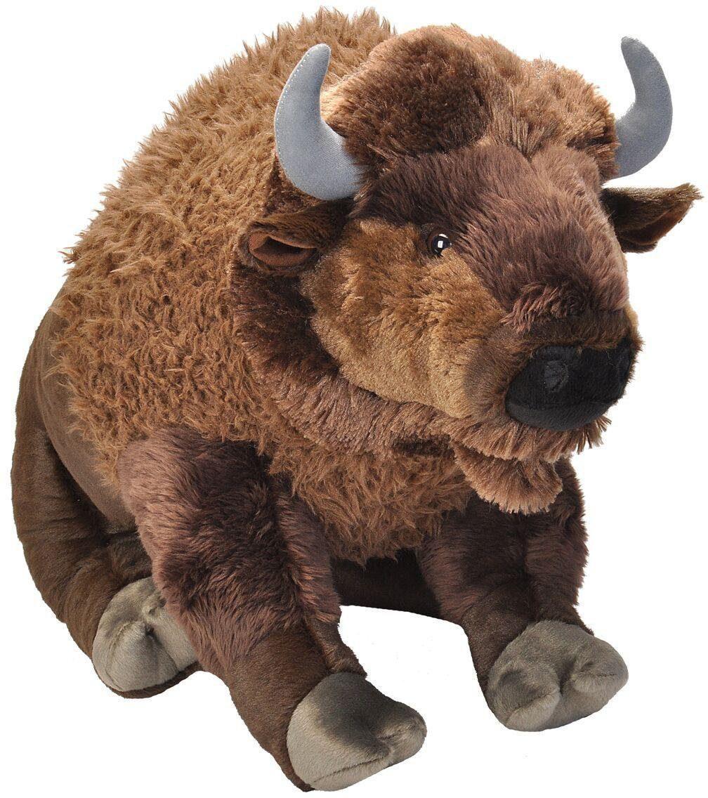 WILD REPUBLIC® Kuscheltier, »Cuddlekins Jumbo Bison, 76 cm«