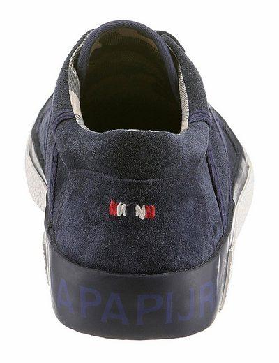 Napapijri Jakob Sneaker, mit stylischer Logo-Prägung an der Ferse