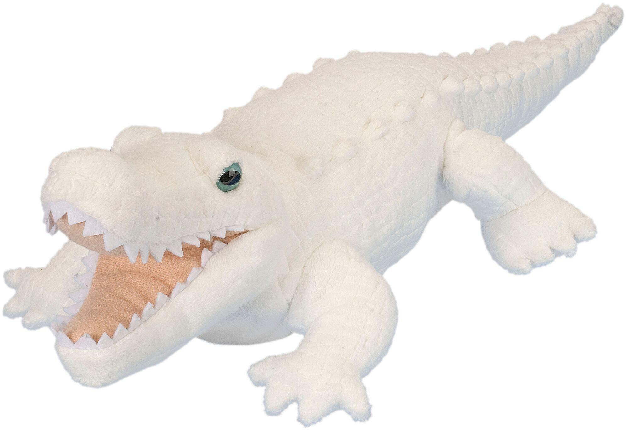 WILD REPUBLIC® Kuscheltier, »Cuddlekins Weißer Alligator, 38 cm«