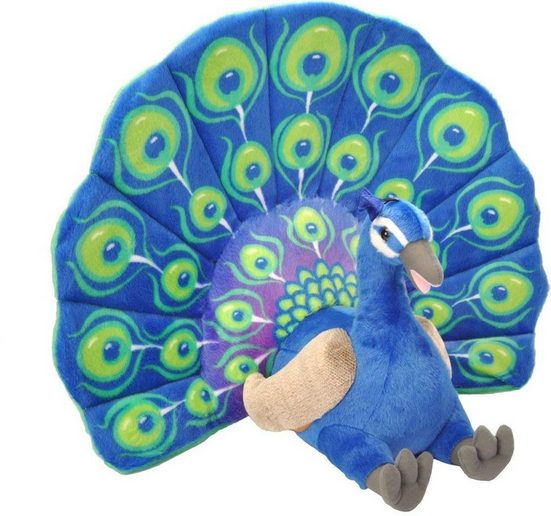WILD REPUBLIC® Kuscheltier, »Little Biggies Pfau, 53 cm«