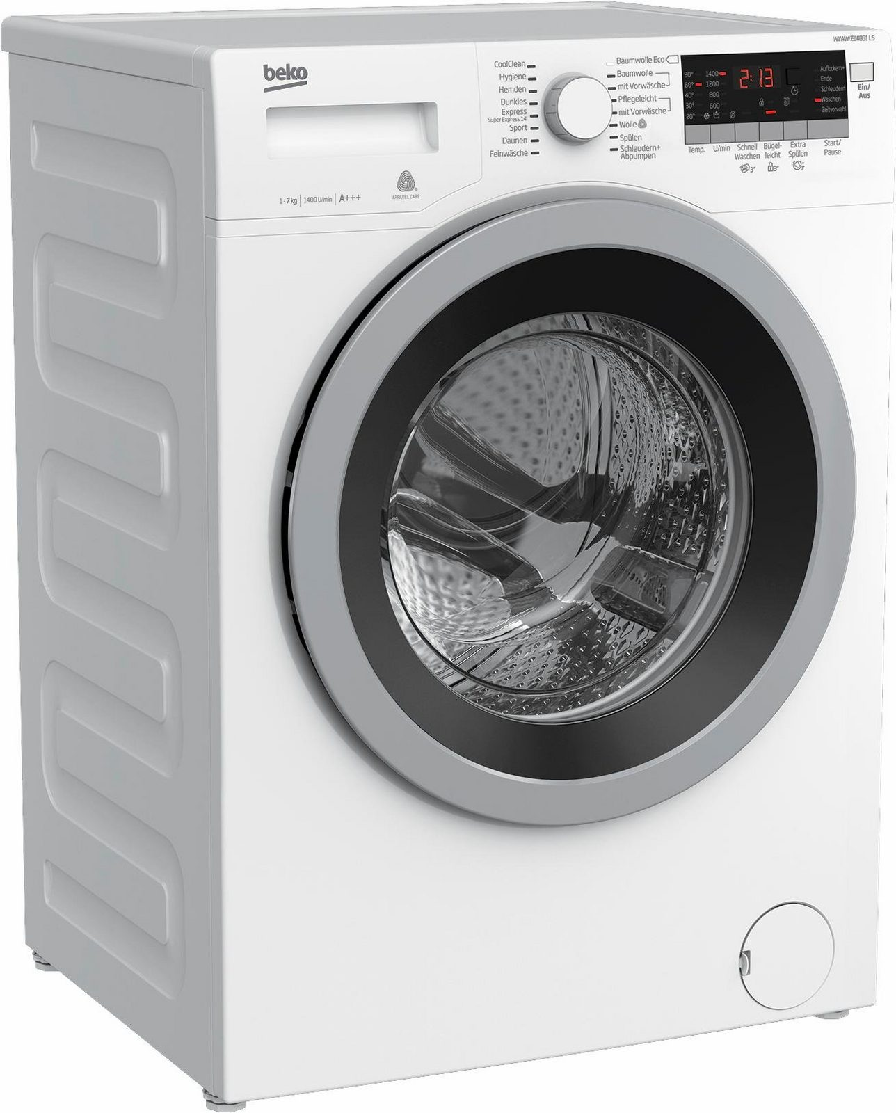 BEKO Waschmaschine WYAW 714831 LS, A+++, 7 kg, 1400 U/Min - broschei