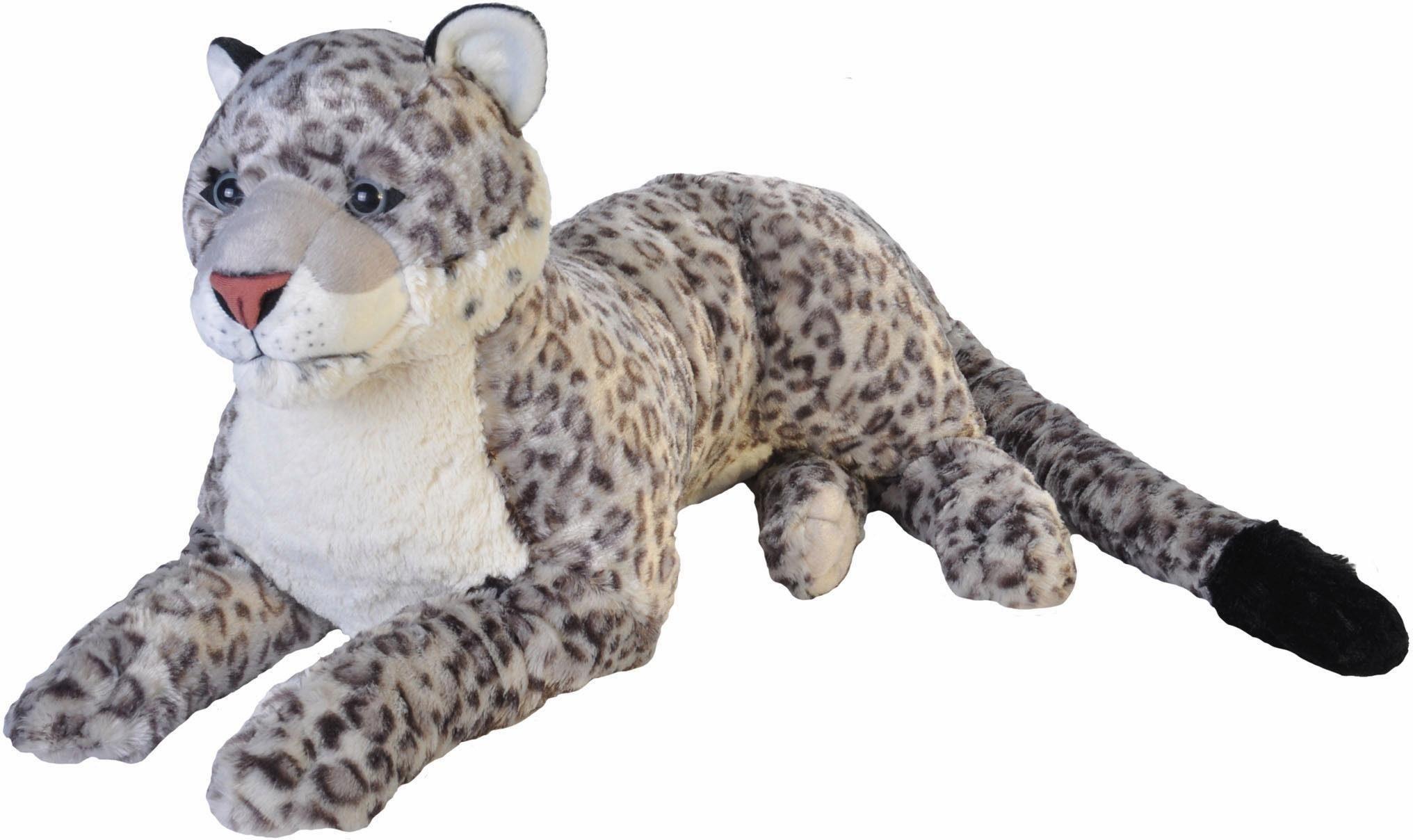 WILD REPUBLIC® Kuscheltier, »Cuddlekins Jumbo Schnee Leopard, 76 cm«