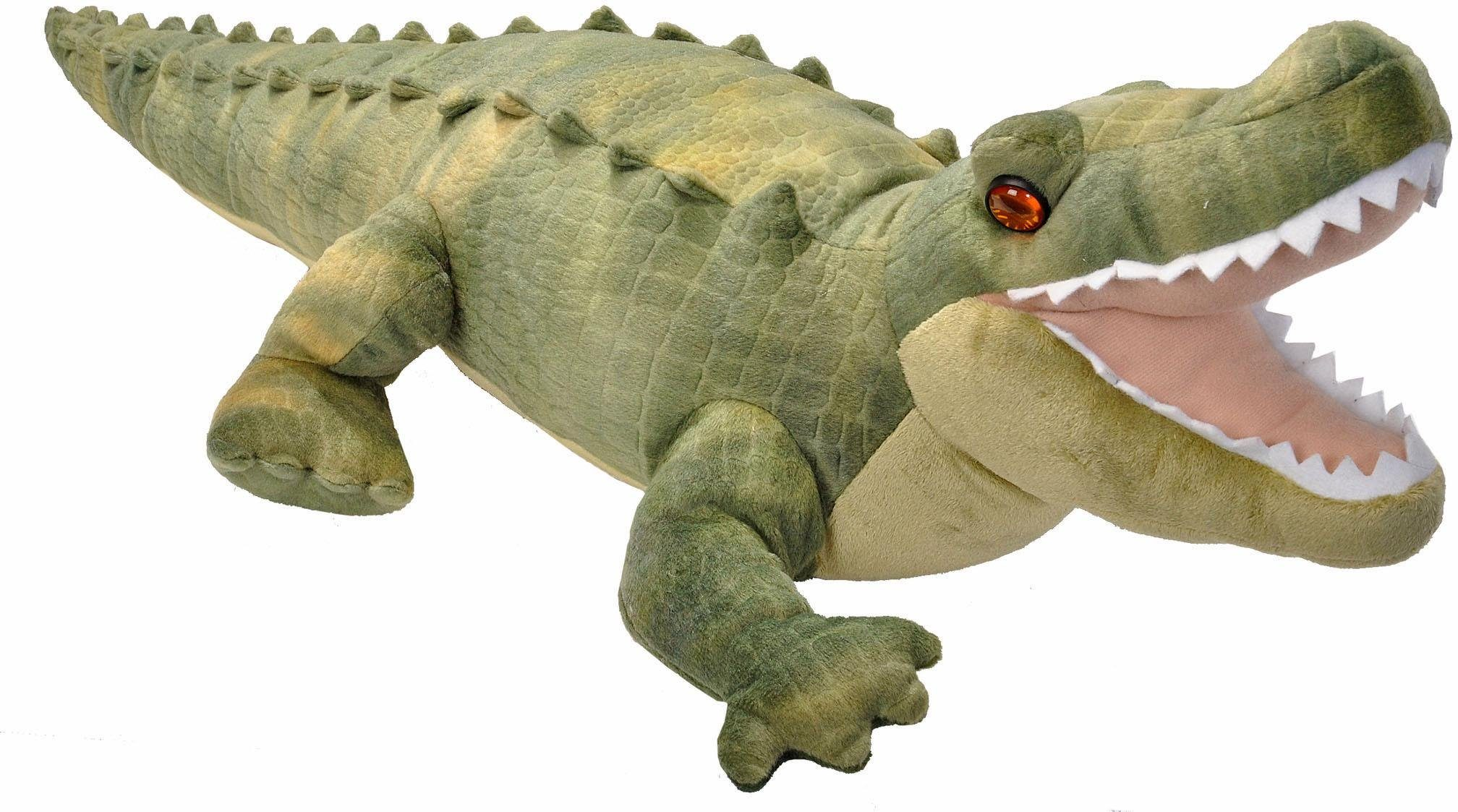 WILD REPUBLIC® Kuscheltier, »Cuddlekins Alligator, 40 cm«