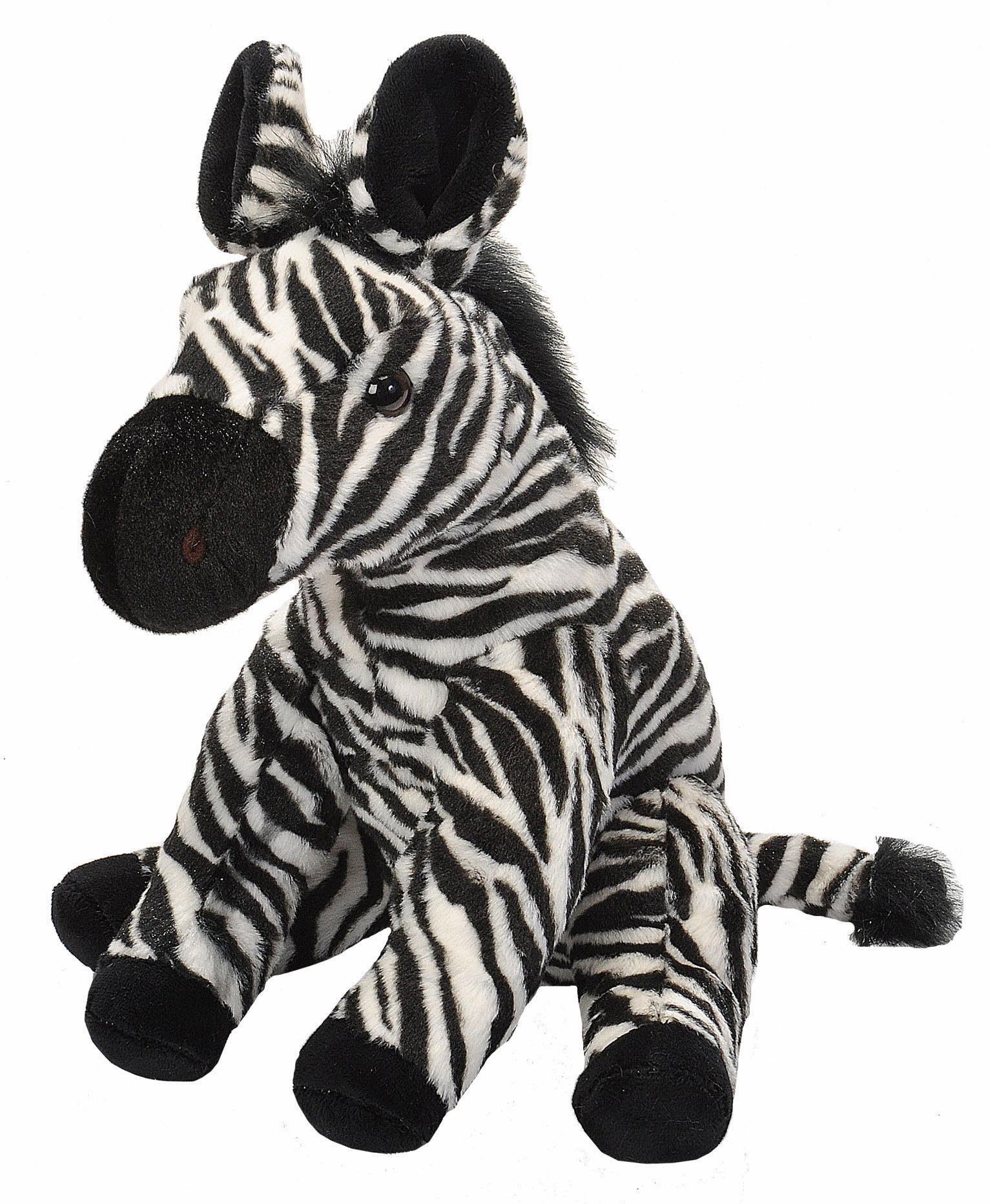 WILD REPUBLIC® Kuscheltier, »Cuddlekins Zebra, 30 cm«