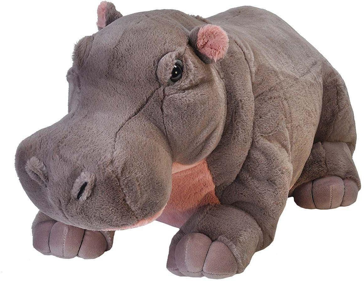 WILD REPUBLIC® Kuscheltier, »Cuddlekins Jumbo Hippo, 76 cm«