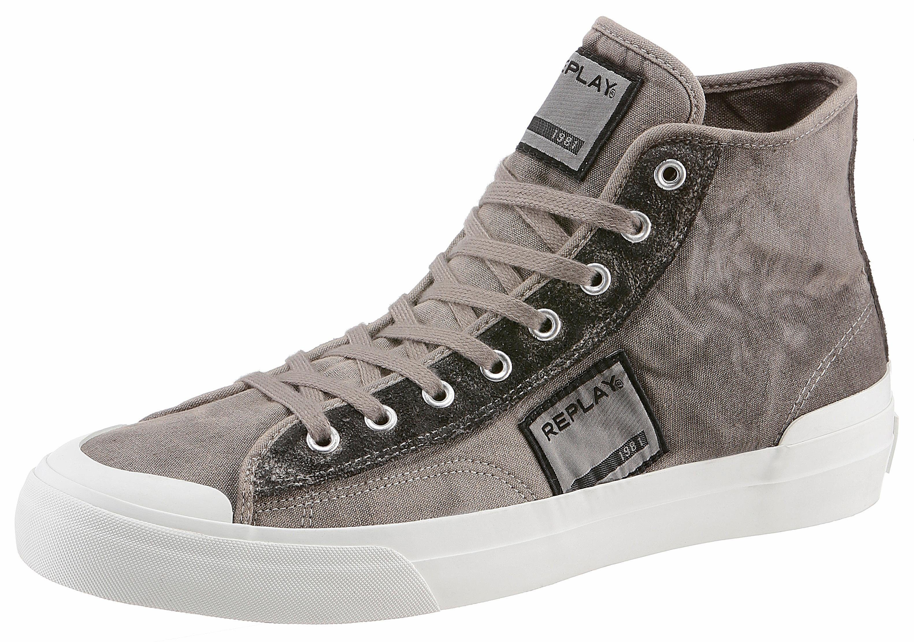 Replay Radio Sneaker, mit Logo-Patch kaufen  taupe