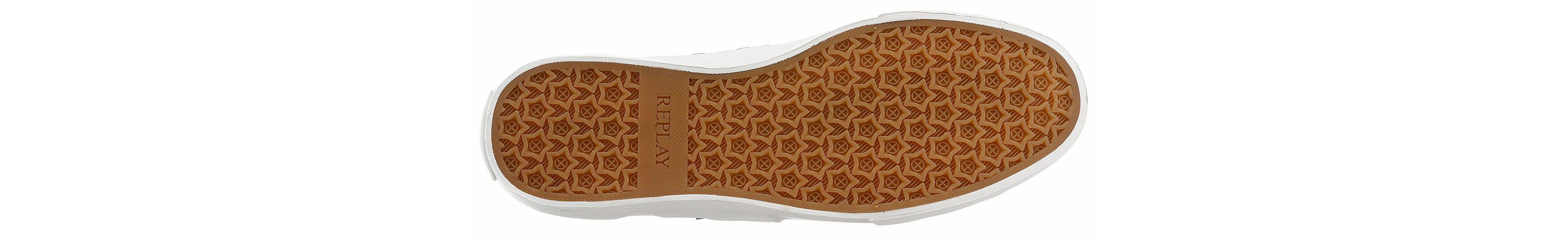 Sneaker Mit Kontrastnähten Maple Replay Angesagten