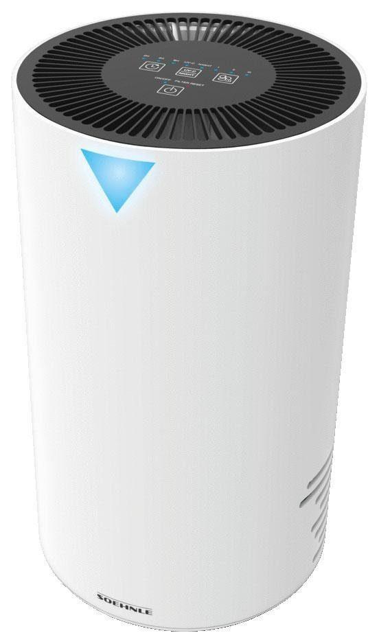 Soehnle Luftreiniger Airfresh Clean 300, Luftreinigung mit dreischichtigem Filtersystem