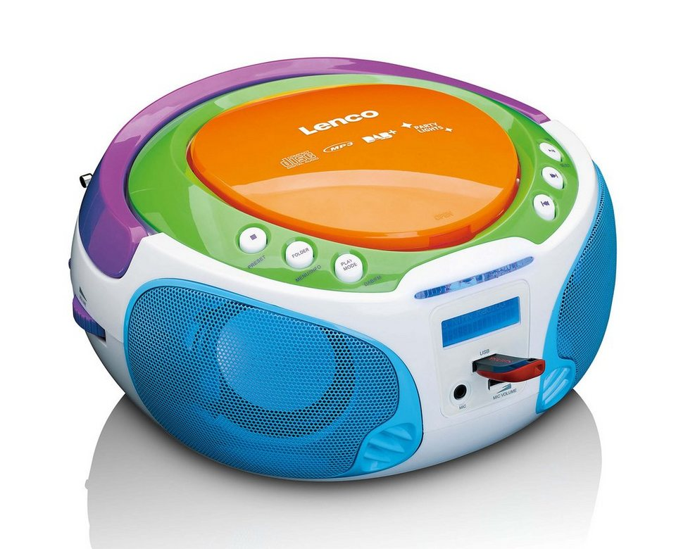 lenco kinder dab fm radio mit cd mp3 player usb. Black Bedroom Furniture Sets. Home Design Ideas