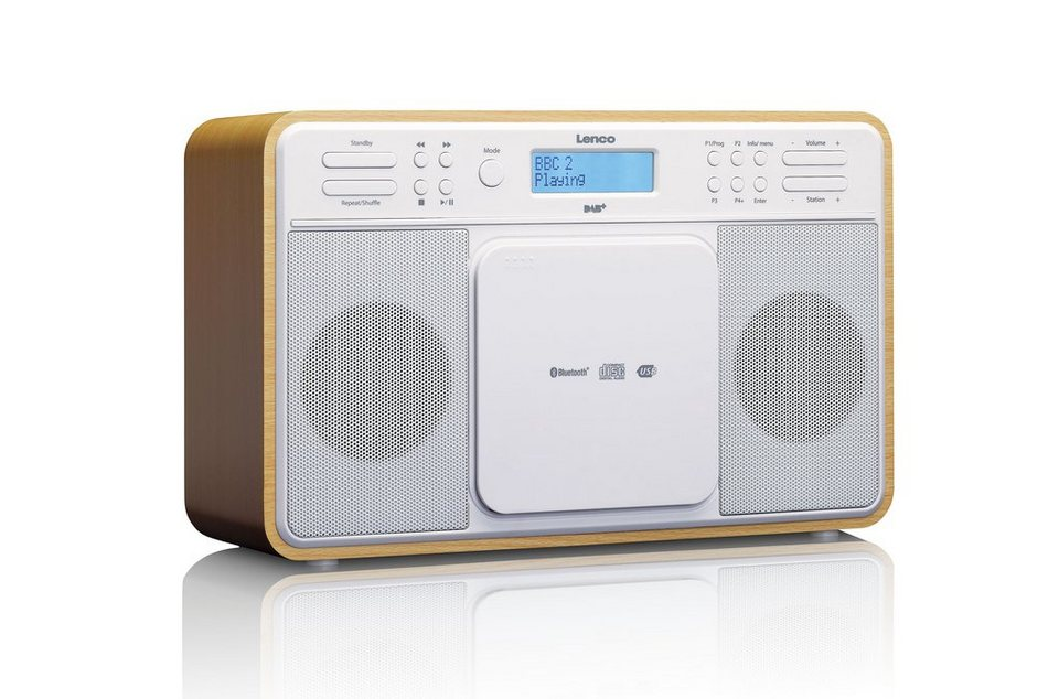 lenco dab fm radio mit bluetooth cd player und usb. Black Bedroom Furniture Sets. Home Design Ideas
