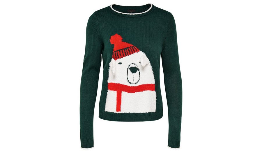 Only Weihnachts Strickpullover Angebot CDIDxVdcoB
