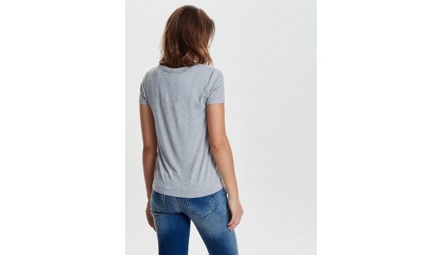 Only Print T-Shirt Shop-Angebot Zum Verkauf bjKmDte