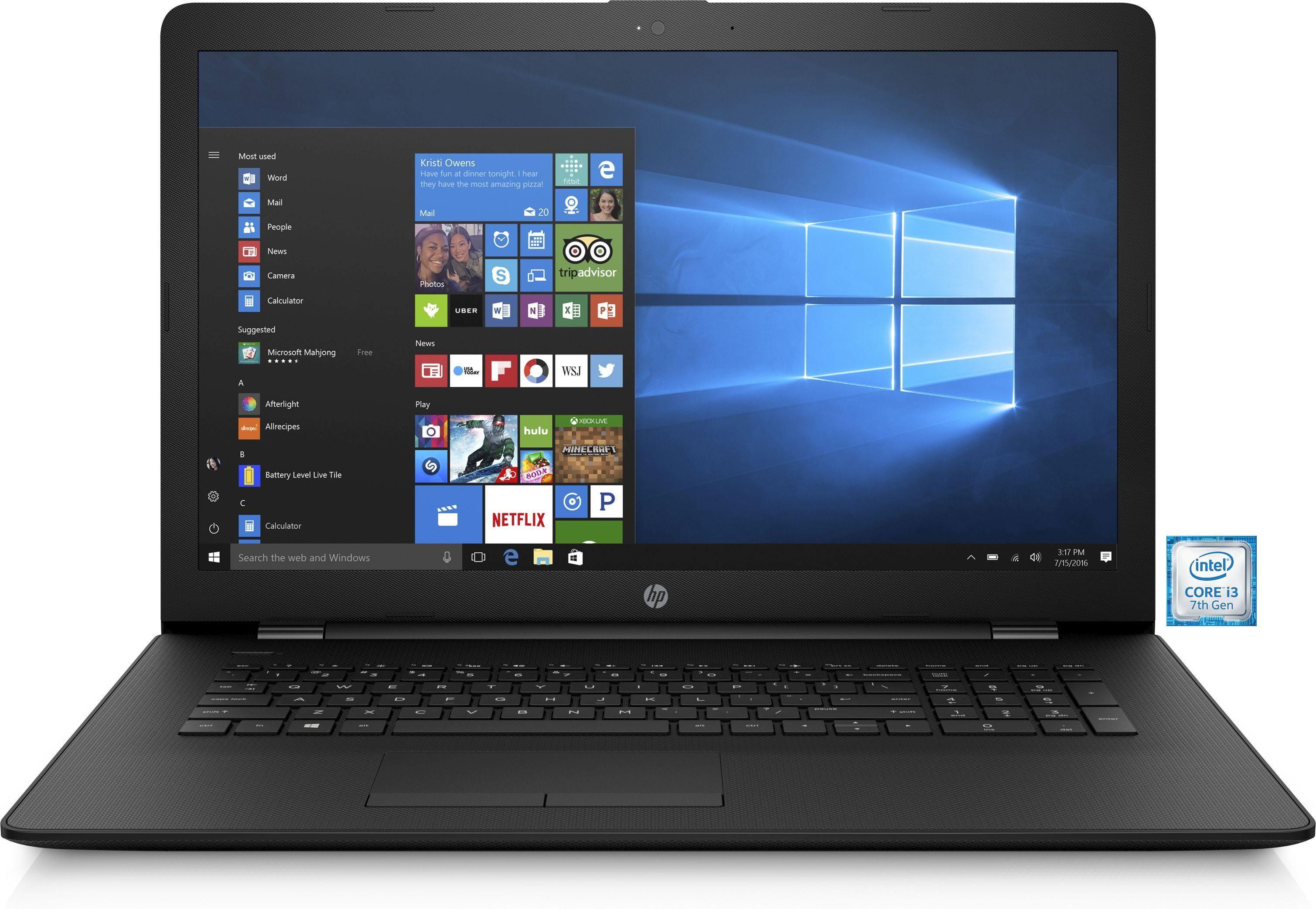 "HP 17-bs011ng Notebook »Intel Core i3, 43,9 cm (17,3""), 1 TB HDD, 8 GB«"