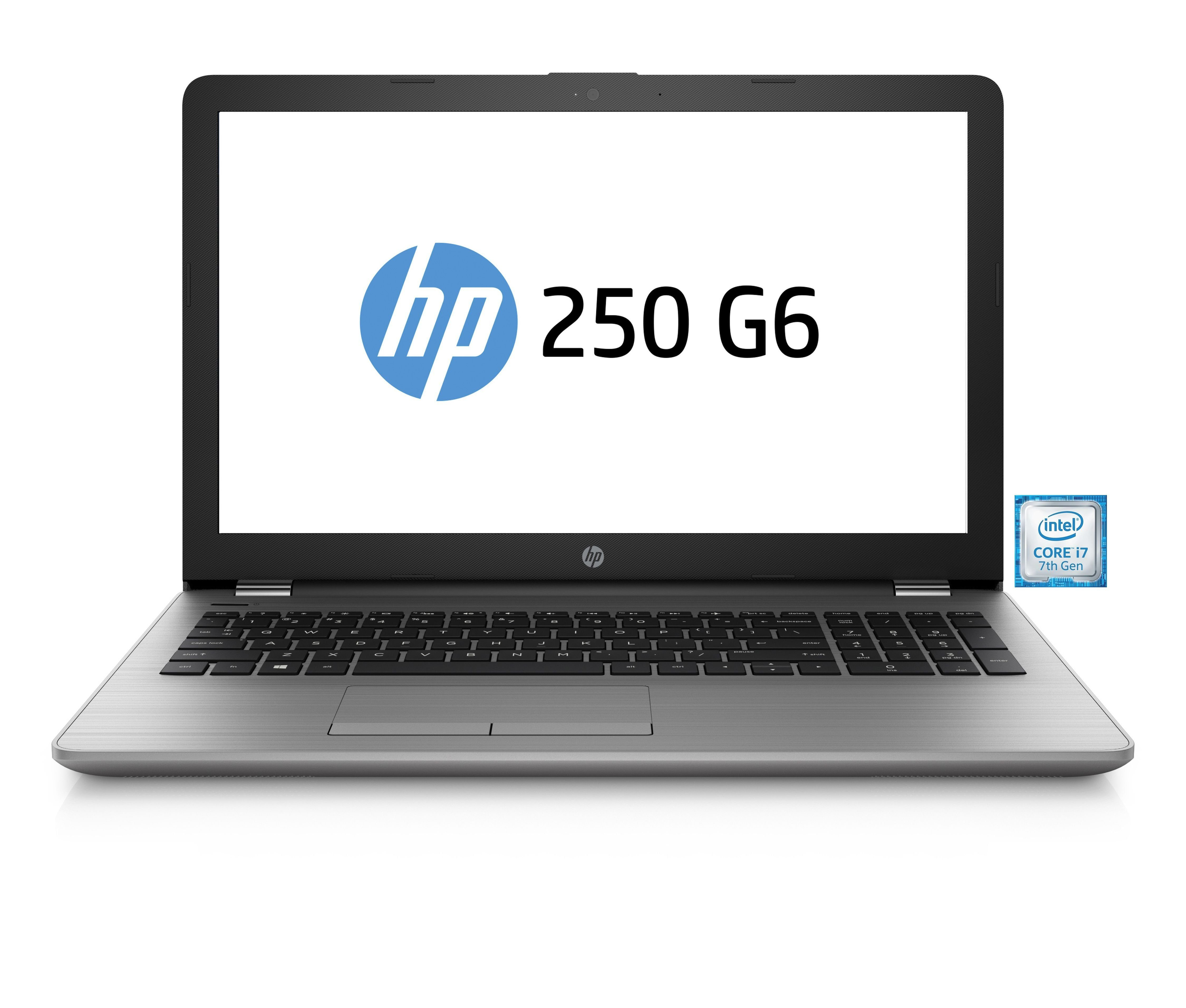 "HP 250 G6 Notebook »Intel Core i7, 39,6cm (15,6""), 512 GB SSD, 8 GB«"