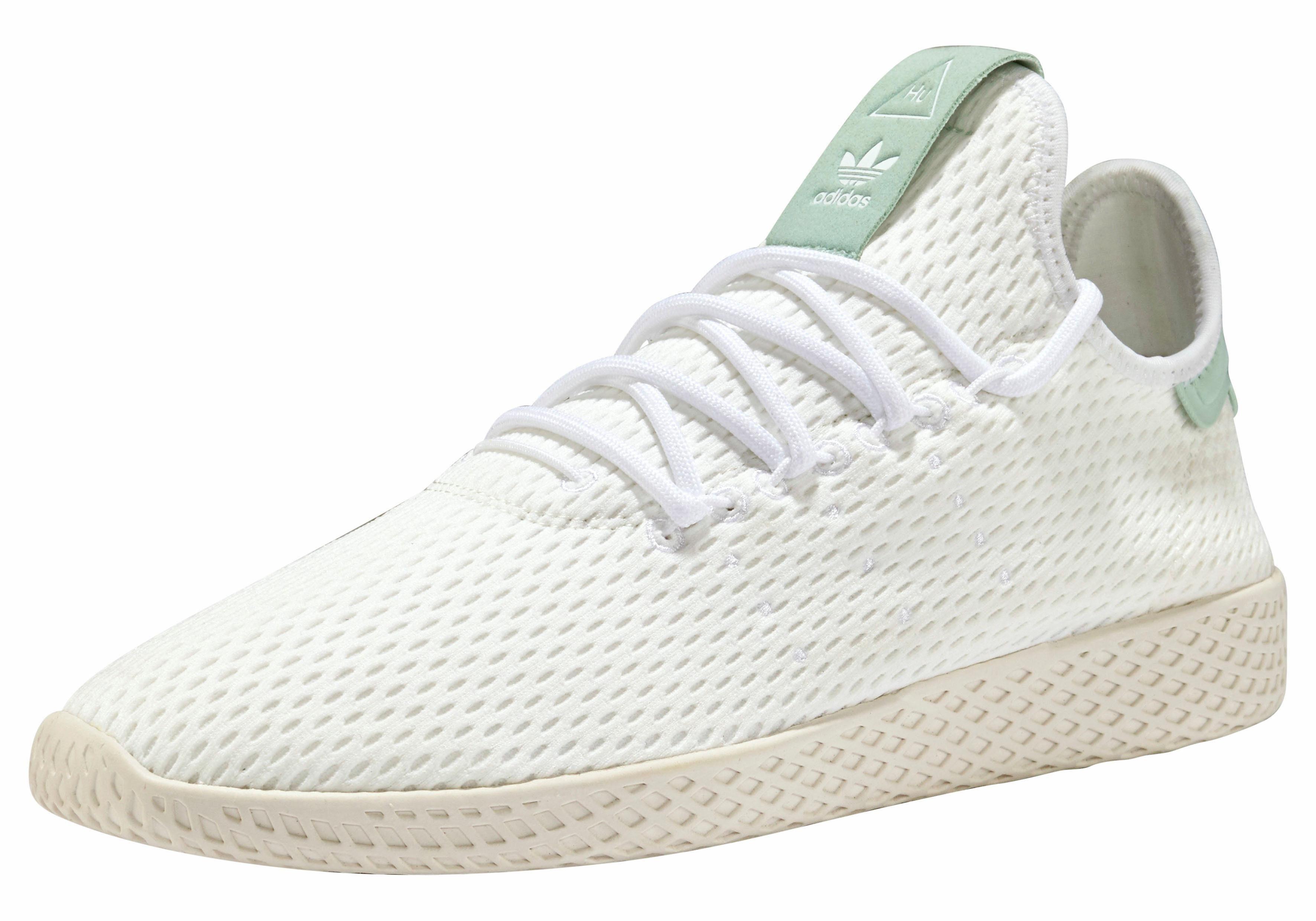 adidas Originals PW Tennis HU Sneaker, Pharrell Williams online kaufen  weiß-grün