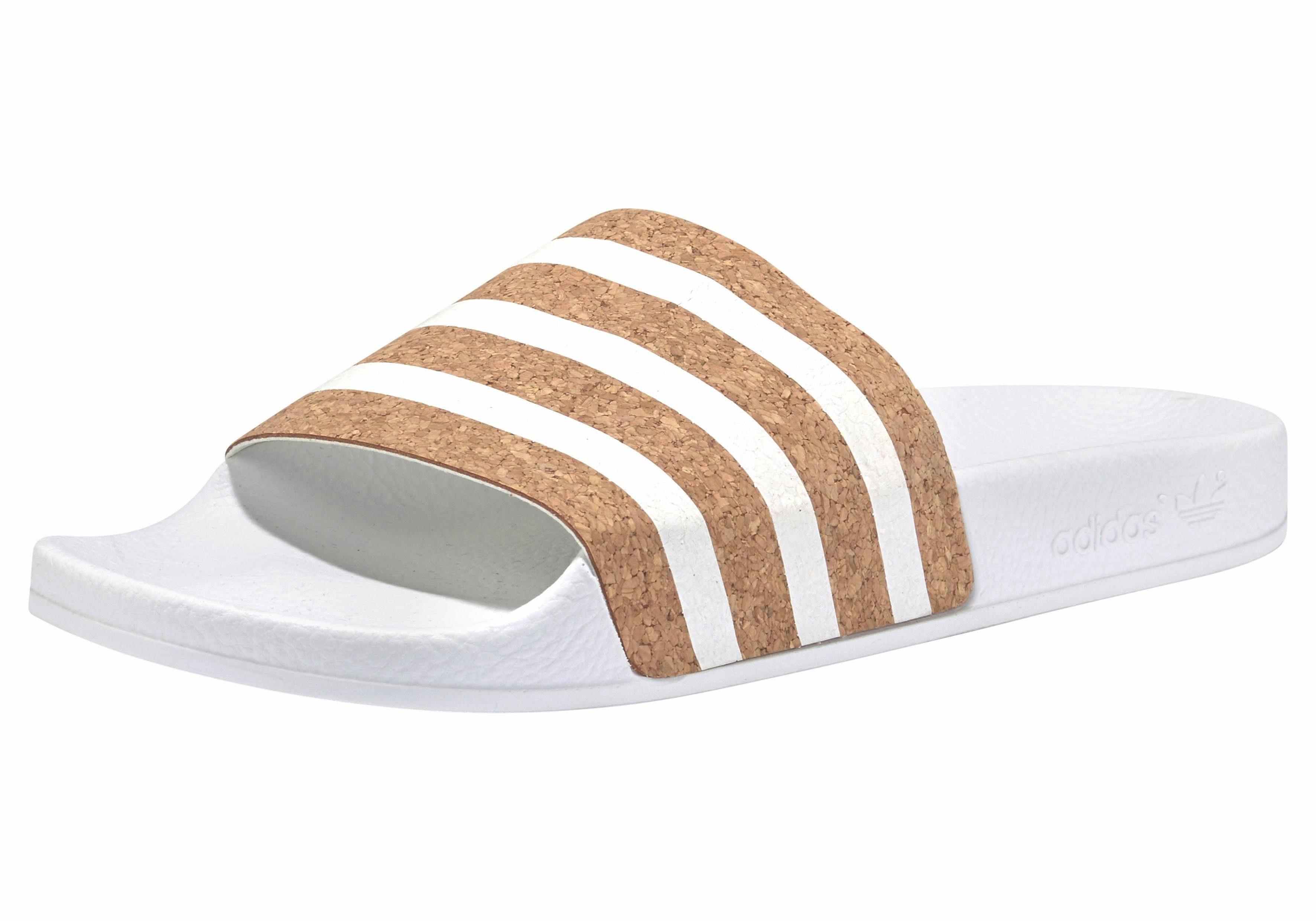 adidas Originals Adilette W Badesandale kaufen  weiß-braun