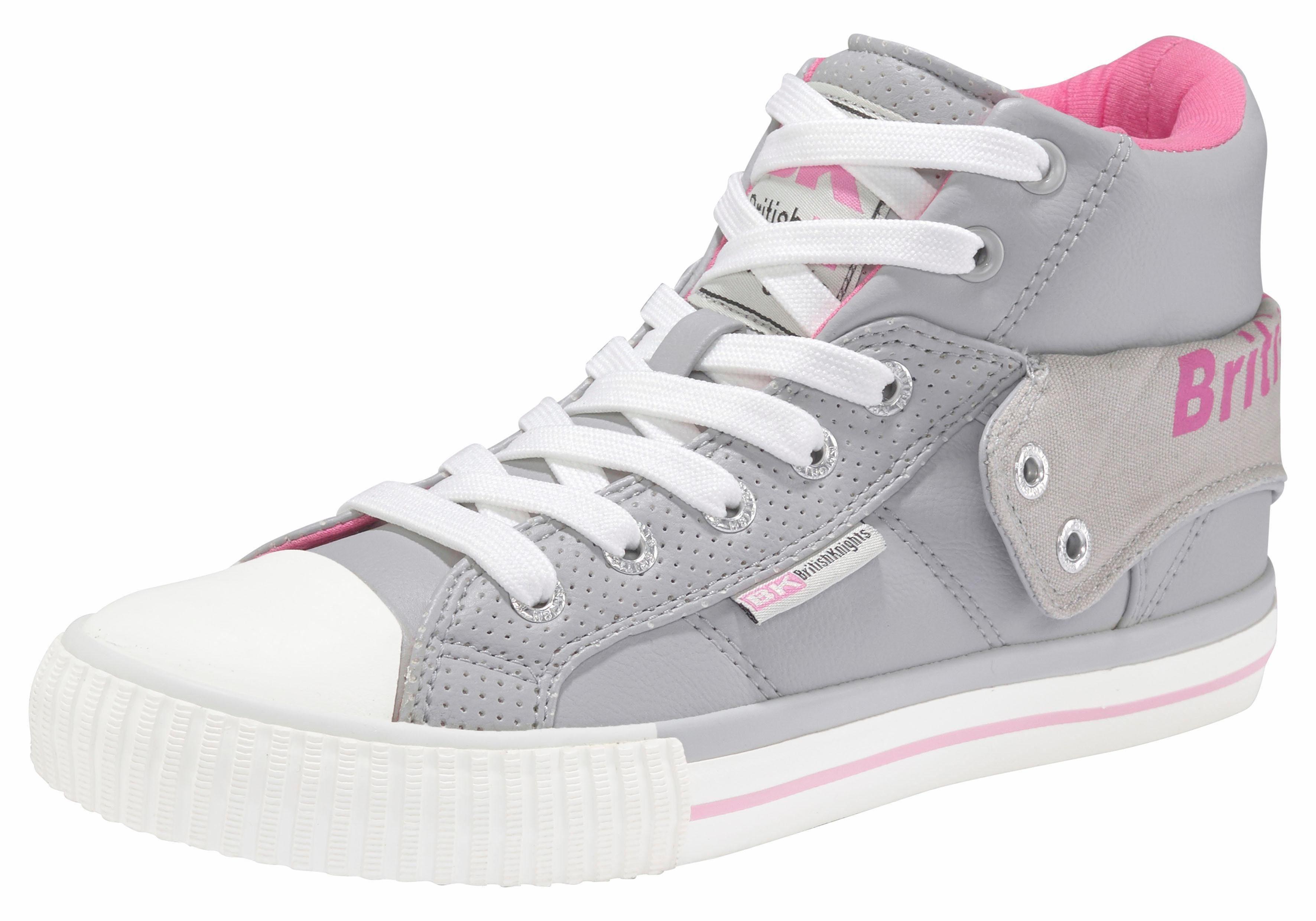 British Knights Roco Sneaker, Damen kaufen  grau-pink