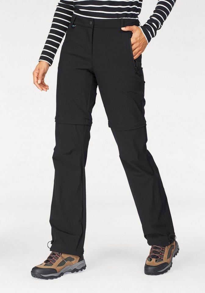 Polarino Trekkinghose mit abzippbaren Beinen | Sportbekleidung > Sporthosen > Trekkinghosen | Schwarz | Polarino